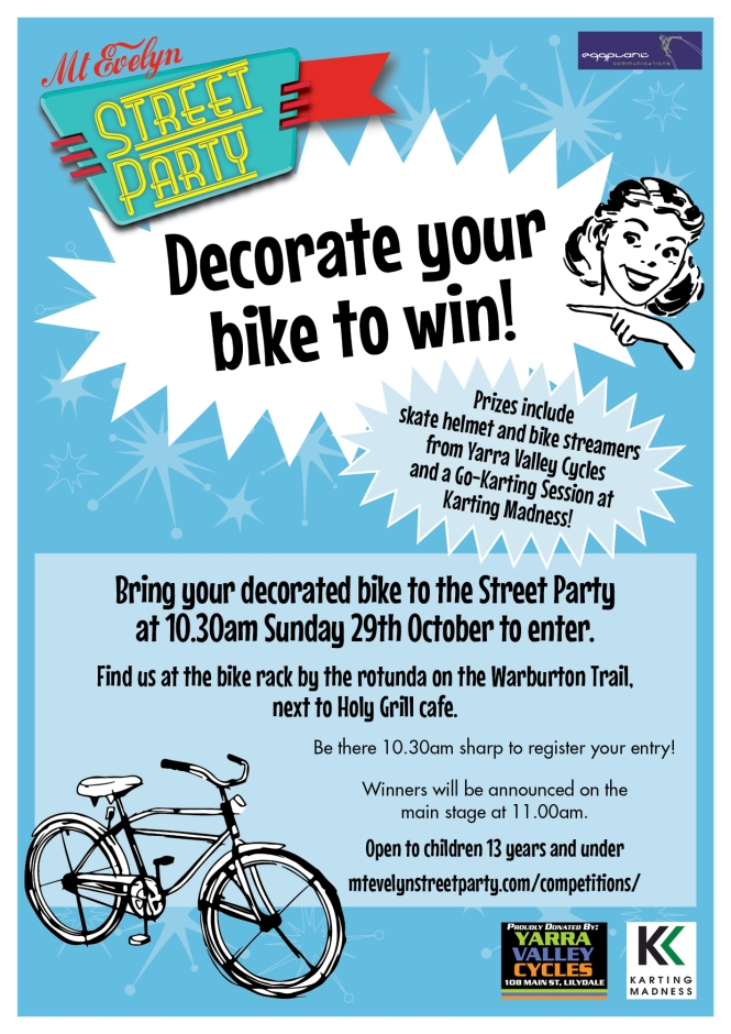Bike Decorating Competition Poster